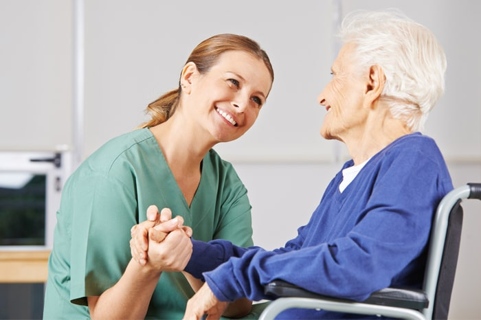 Global Occupational Therapy Day-Occupational Therapist Treating Older Patient
