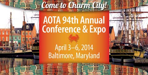 AOTA 94th annual conference baltimore