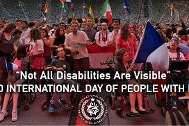 International Day of Persons with Disabilities + Discount Code 2020