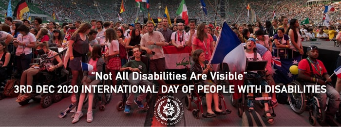 International Day of Persons with Disabilities Banner - IDPWD 2020