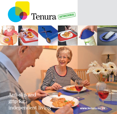 Tenura Daily Living Aids brochure front cover